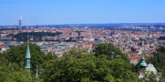 Historyczny Praga centre Zdjęcie Royalty Free