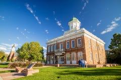 Historyczny rada Hall budynek w Salt Lake City, Utah Fotografia Royalty Free