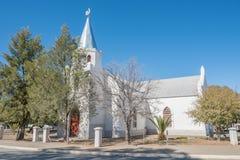 Historyczny Rhenish kościół w Carnavon Zlany Reformowany Chu, teraz zdjęcia stock