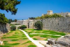 Historyczny Rhodes Grecja Europa Zdjęcia Stock