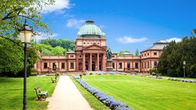 historyczny sławny Kaiser Wilhelms Zły w Złym Homburg Niemcy obraz royalty free