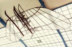 Historyczny samolot, krajowy techniczny muzeum w Praga Zdjęcia Royalty Free