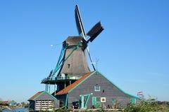 historyczny schans wiatraczków zaanse Fotografia Stock