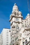Historyczny stary budynek w Buenos Aires zdjęcie stock