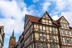 Historyczny stary grodzki Hannover Germany Obrazy Royalty Free