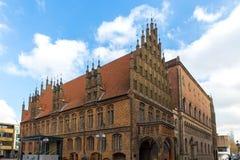 Historyczny stary grodzki Hannover Germany Zdjęcia Royalty Free