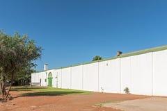 Historyczny stary więzienie w Philippolis Zdjęcie Stock