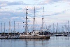 Historyczny statek w Walencja Zdjęcie Stock