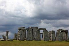 Historyczny Stonehenge miejsce Zdjęcia Royalty Free