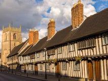 Historyczny Stratford na Avon fotografia royalty free