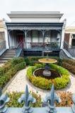 Historyczny tarasu dom w Wschodnim Melbourne w Australia zdjęcia stock