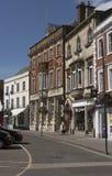 Historyczny targowy miasteczko Wymyślam Wiltshire Anglia UK Obrazy Stock