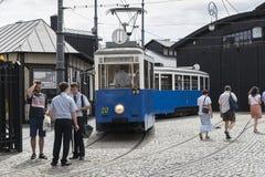 historyczny tramwaj zdjęcia stock