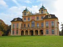 Historyczny Ulubiony pałac w Ludwigsburg Niemcy Fotografia Royalty Free