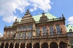 Historyczny urząd miasta Bremen, Niemcy Obraz Royalty Free