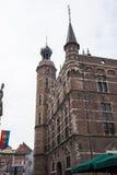Historyczny urząd miasta z góruje w Venlo, Holandia Fotografia Royalty Free