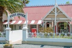 Historyczny urzędu pocztowego budynek w Matjiesfontein Obrazy Stock