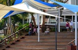 Historyczny W centrum Stuart nabrzeża zakończenie Up Zdjęcia Stock