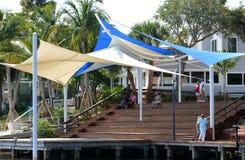 Historyczny W centrum Stuart nabrzeże Zdjęcia Royalty Free