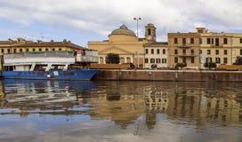 Historyczny Włoski miasteczko Zdjęcia Royalty Free