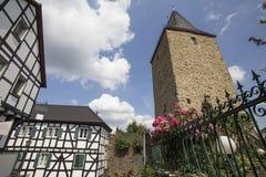 Historyczny wioski blankenberg w Germany Fotografia Royalty Free