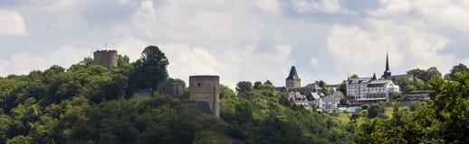 Historyczny wioski blankenberg w Germany Obraz Royalty Free