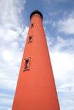 historyczny wpusta latarni morskiej ponce Zdjęcie Royalty Free