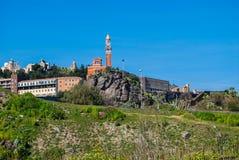 Historyczny wzgórze w Paterno sicily Zdjęcie Stock