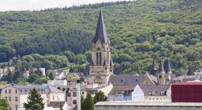 Historyczny Zły Neuenahr-Ahrweiler miasto Germany Fotografia Stock