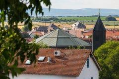 Historyczny zły vilbel Hesse Germany zdjęcia stock
