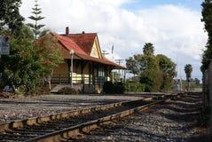 historyczny zajezdnia pociąg Obrazy Royalty Free