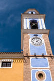 Historyczny Zegarowy wierza w Mula, Hiszpania Obrazy Stock
