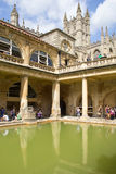 Histotic Roman Baths Stock Photo