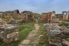Histria堡垒废墟 库存照片