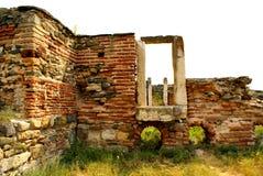 Histria, ancient City in Romania Stock Photo