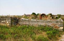 Histria, ancient City in Romania Stock Photos