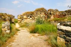 Histria, ancient City in Romania Royalty Free Stock Photography