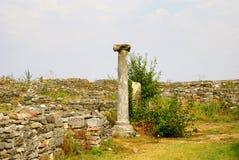 Histria, ancient City in Romania Stock Image