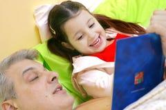 História das horas de dormir Fotografia de Stock