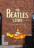A história de Beatles Foto de Stock Royalty Free