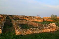 Histria - fortress ruins Royalty Free Stock Photos