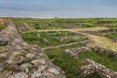 Histria fortress ruins Stock Photos