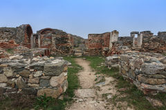 Histria fortress ruins Stock Image
