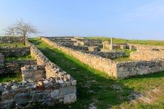 Histria ruins. In Constanta county, Romania Stock Photos