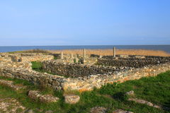 Histria ruins. In Constanta county, Romania Royalty Free Stock Photography