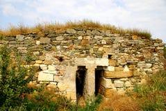 Histria, ville antique en Roumanie photographie stock libre de droits