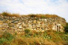 Histria, ville antique en Roumanie images stock