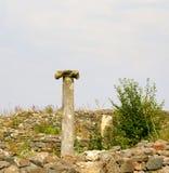 Histria, ville antique en Roumanie image stock