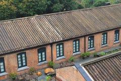 Histroic建筑学结构在香港 皇族释放例证
