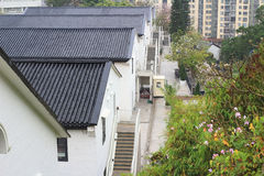 Histroic建筑学结构在香港 库存图片